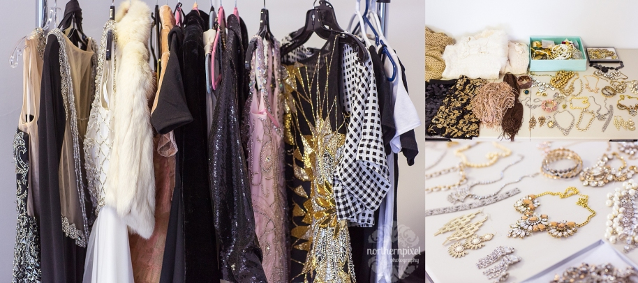 Dresses and Accessories