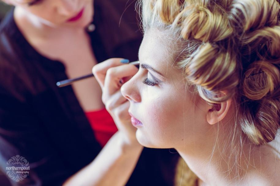 Makeup by Laura Heagy